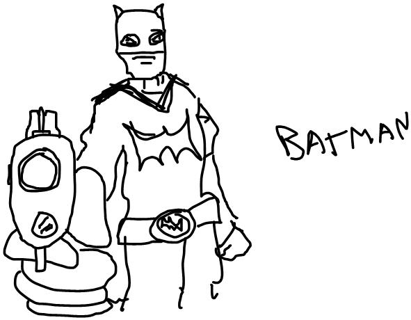MSN Stylet :ge: Batman